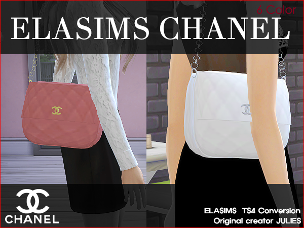 Shoulder bag at ElaSims