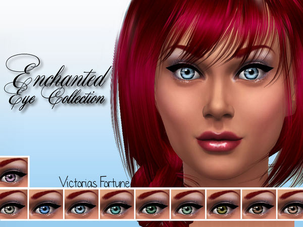 Victorias Fortune Enchanted Eye Collection by fortunecookie1
