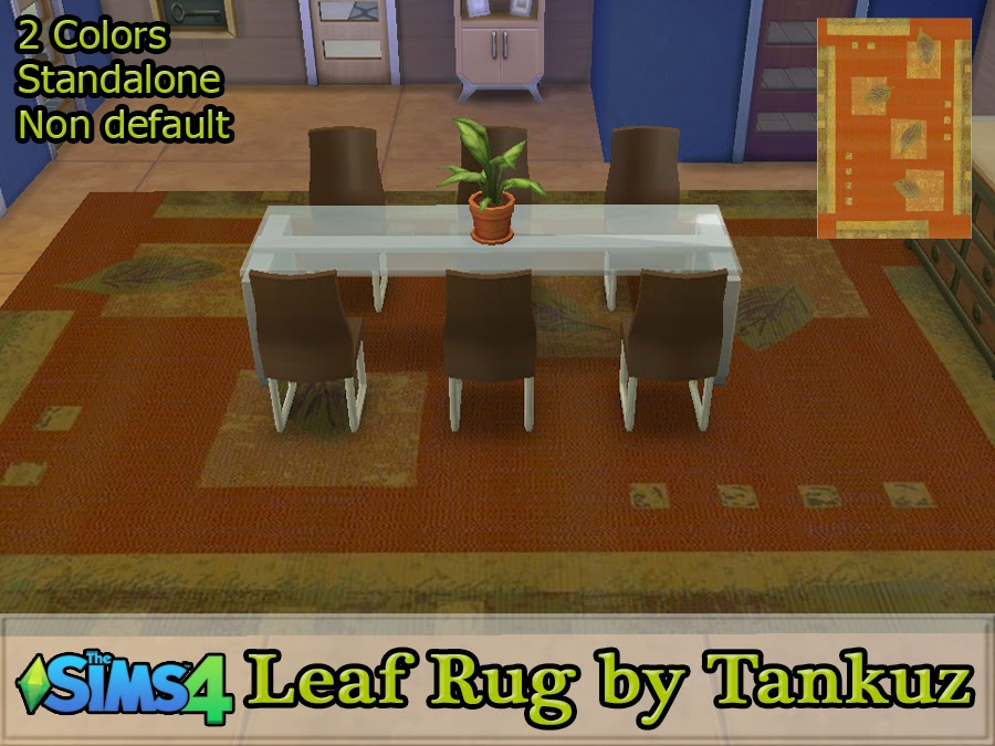 Leaf Rug by Tankuz