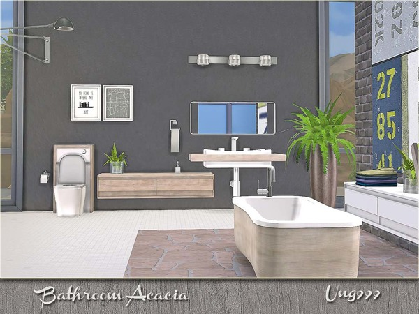 Bathroom Acacia by ung999