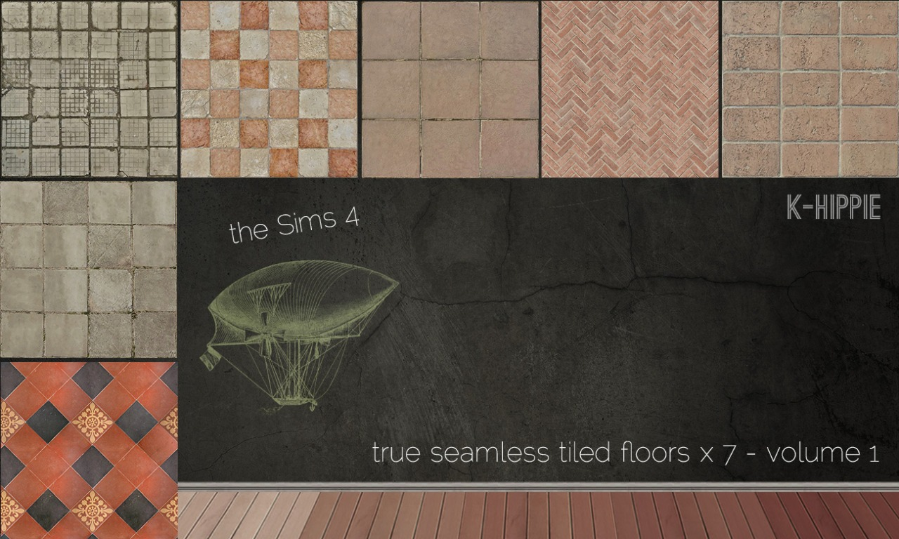 7 tiled floors vol. 1 at K-hippie