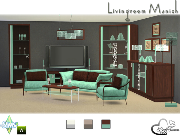 Livingroom Munich by BuffSumm
