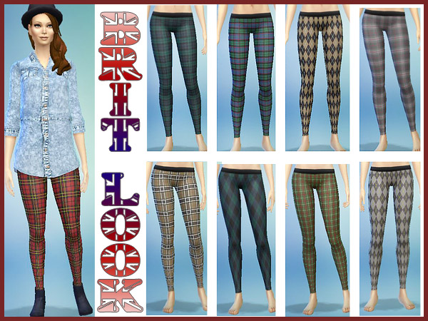 Brit Look Leggins by Waterwoman