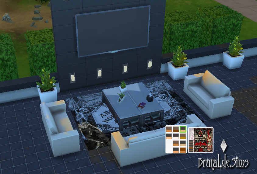 Ouija Rugs at Brutal de Sims4