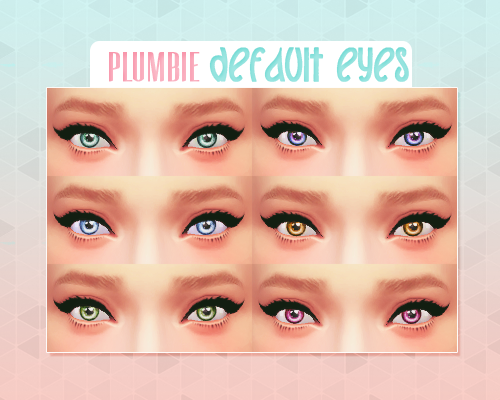 Default Eyes by Plumbie