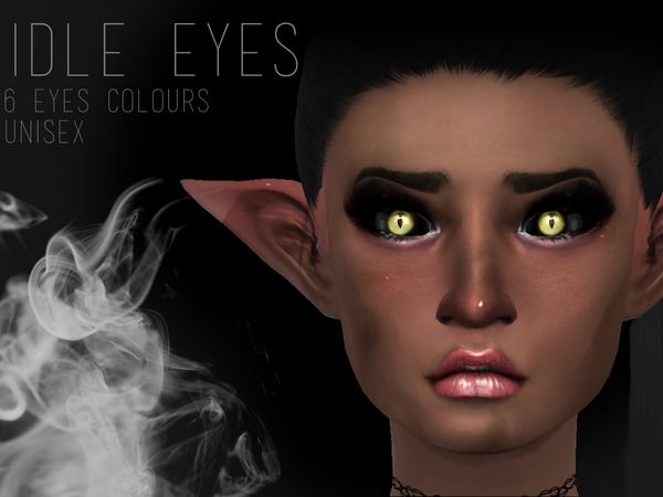IDLE EYES by Witch-Sims