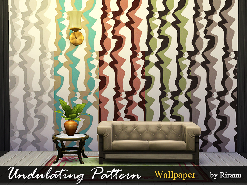 Rirann Undulating Pattern Wallpaper