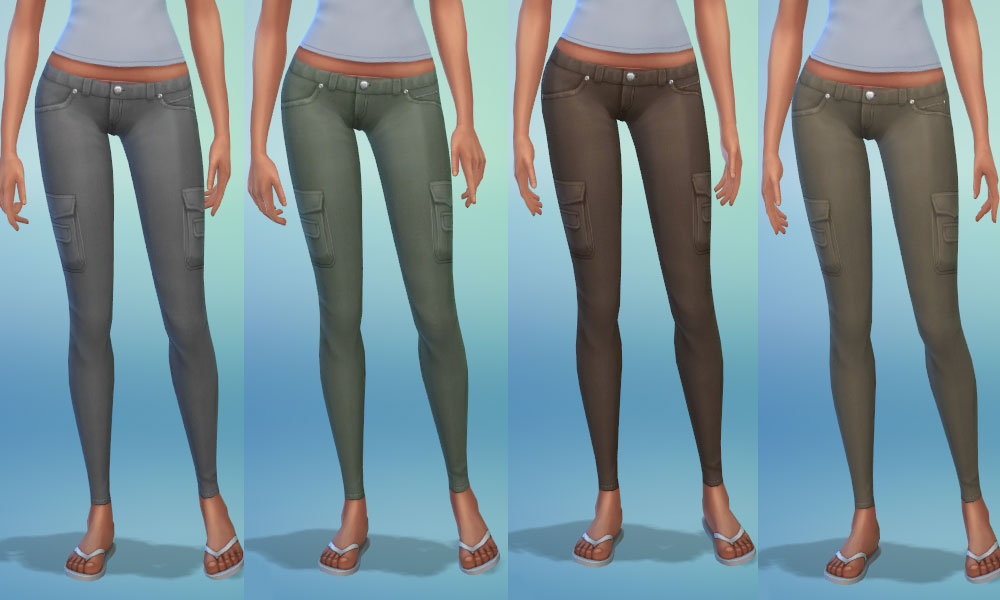 Cargo Skinnies - YF by mia114