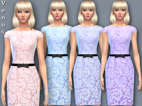 Venus lace dress by Pinkzombiecupcakes