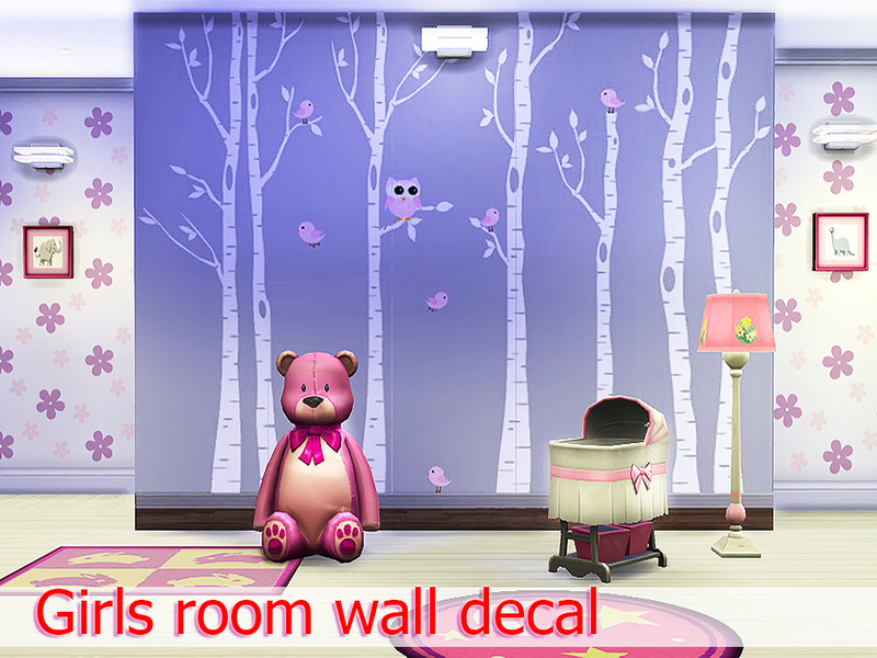 Pinkzombiecupcakes Girls room wall decal