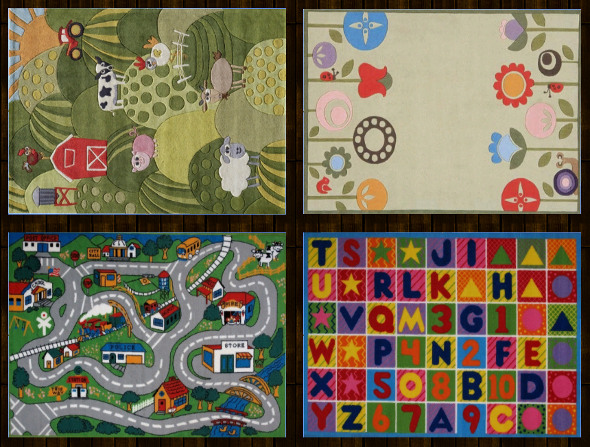 Kids Rugs by DarkiieSims4