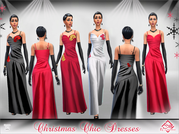 Christmas Chic Dresses by Devirose