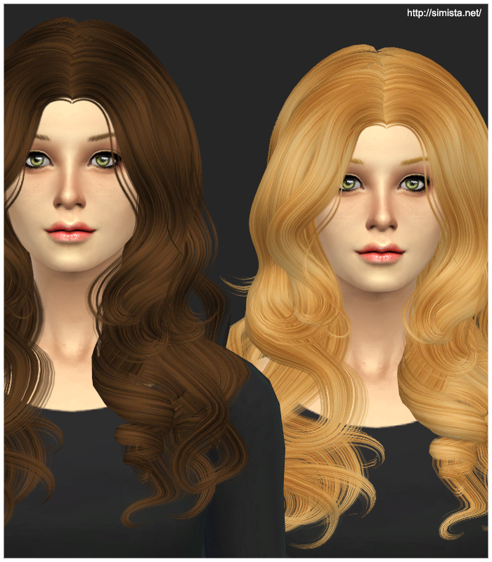 Newsea YU088 Luxury Hair Retexture at Simista