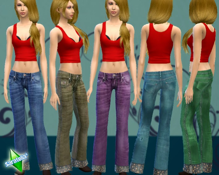 Fizzy Jeans for Females by Saratella
