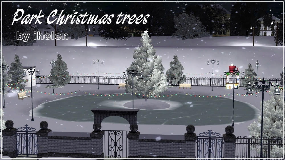 Park Christmas tree by ihelen