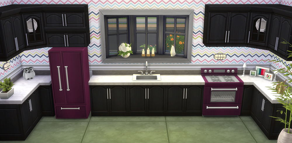 15 Refrigerator and Stove Recolors by SaudadeSims