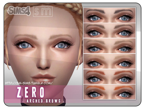 [ Zero ] - Feminine Arched Brows by Screaming Mustard