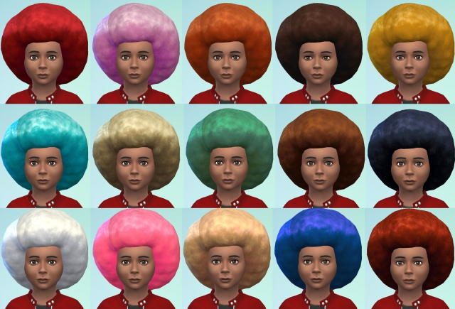 Big Afro For Small People - Children's Conversion by Esmeralda