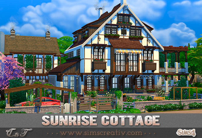 Sunrise Cottage by tanitas8