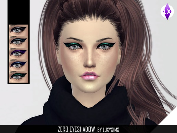 Zero Eyeshadow by LuxySims3