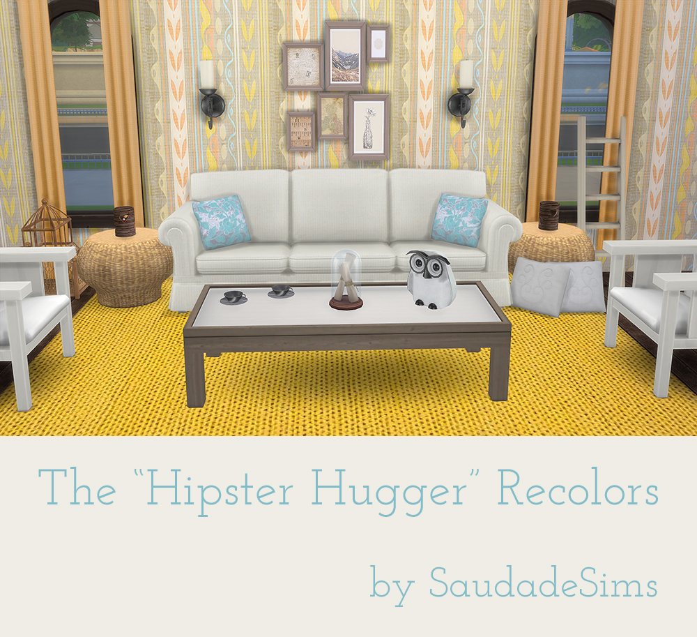 The Hipster Hugger Recolors by SaudadeSims