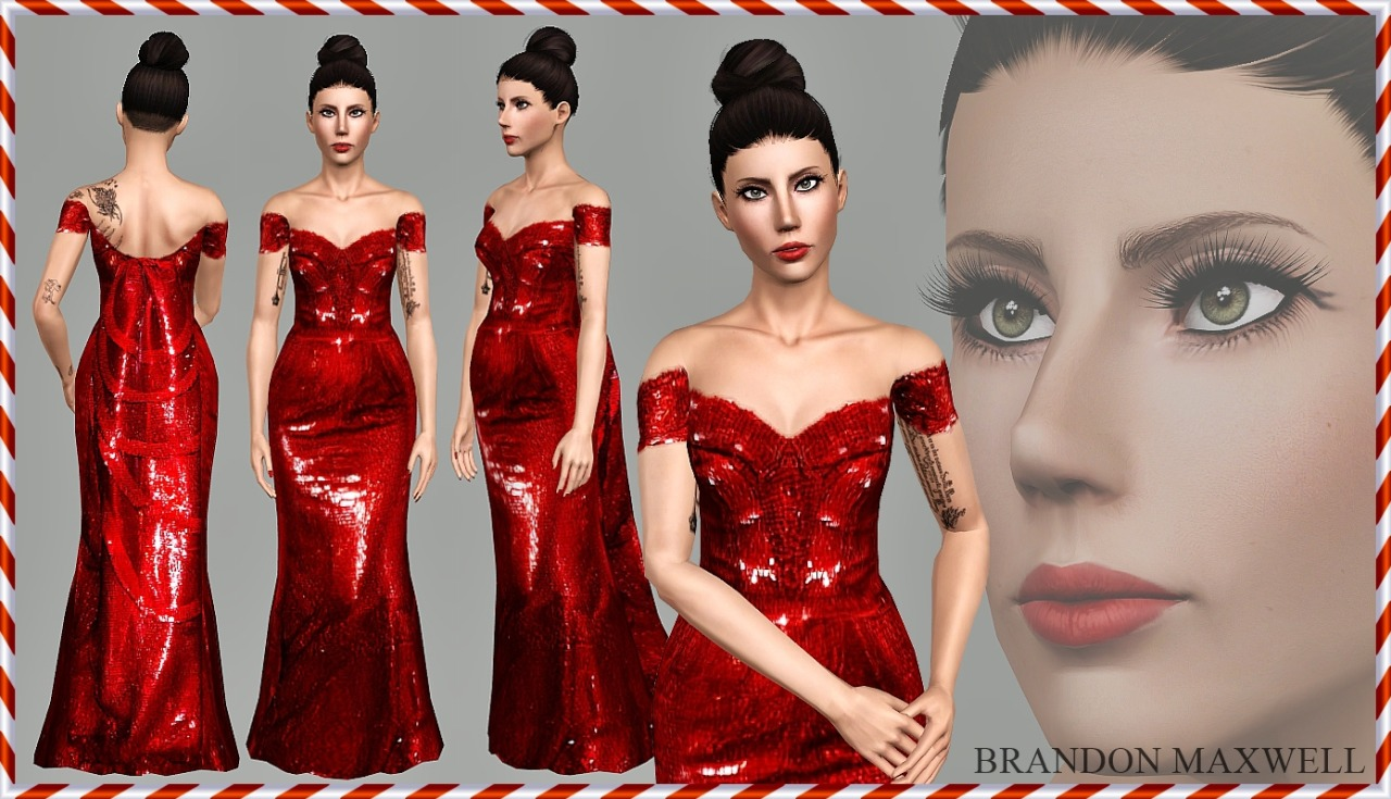 A Red Christmas by Art-Sims