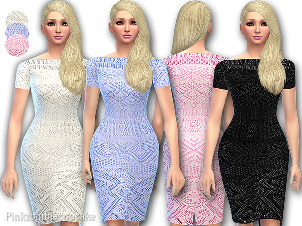 Crochet dress Ileana by Pinkzombiecupcakes