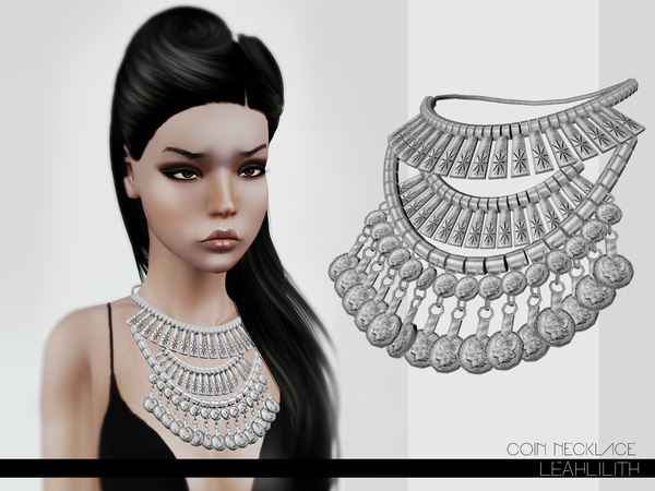 LeahLillith Coin Necklace by Leah Lillith