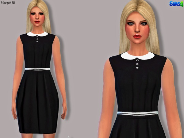 Sims 4 Victoria Dress by Margeh-75