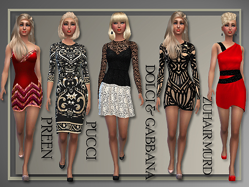 Designer Holiday Dresses by Judie