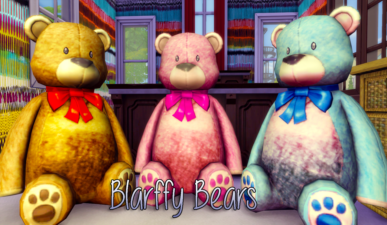 Blarffy Bear Retexture by Ensimique
