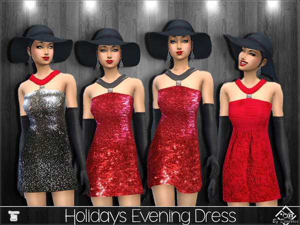 Holidays Evening Dress by Devirose