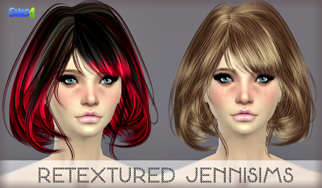 Elasims Asked Hair30F Retexture by JenniSims