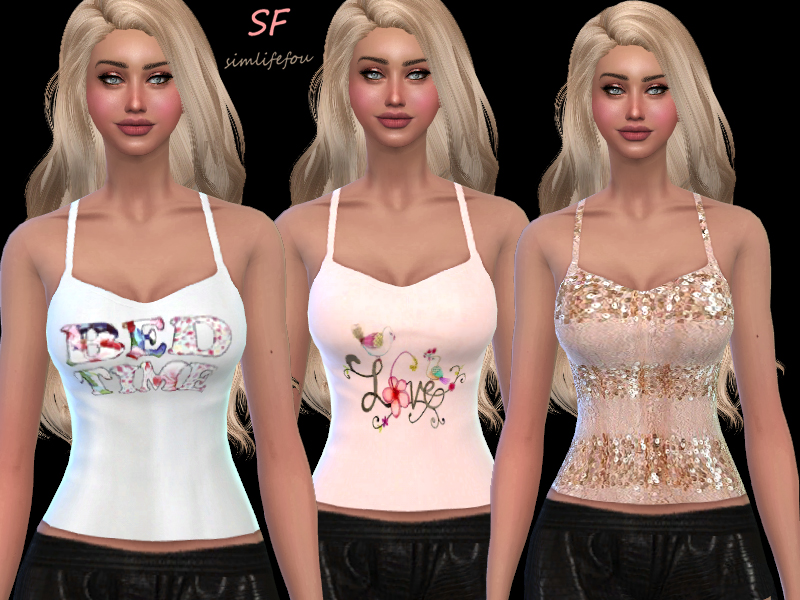 20 Tank Tops for Females by Mysimlifefou