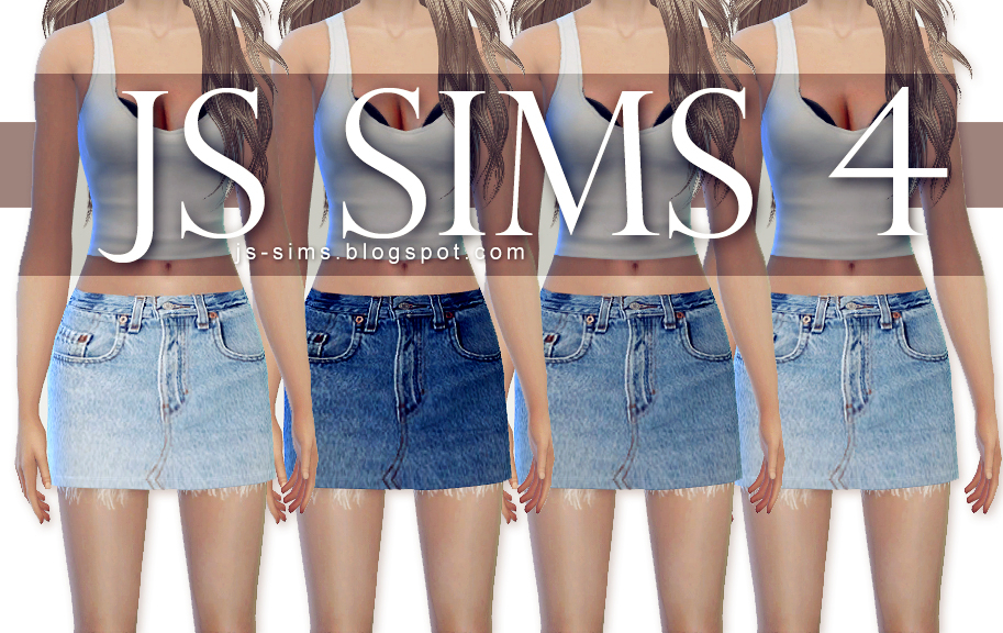 Denim Skirts by JS SIMS