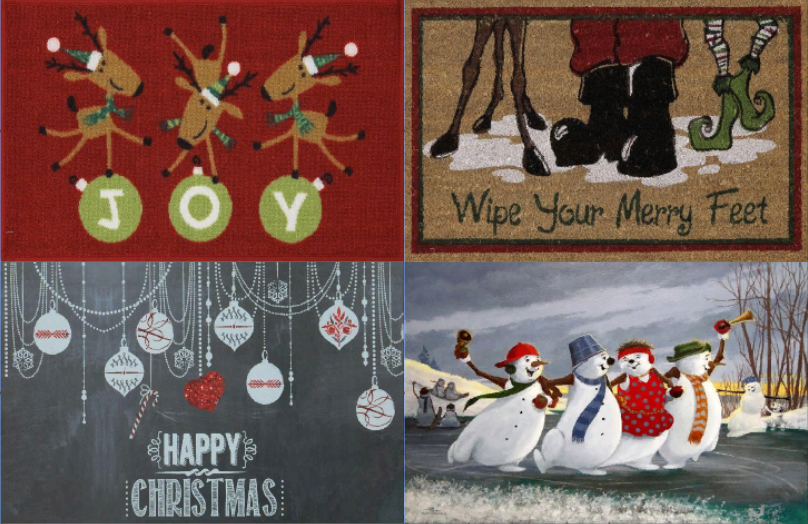 Christmas Rugs by DarkiieSims4