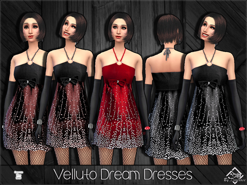 Velluto Dream Dresses BY Devirose