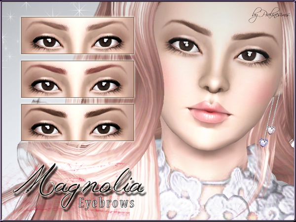 Magnolia Eyebrows by Pralinesims