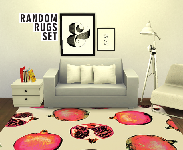 Random Rugs Set by PureSims