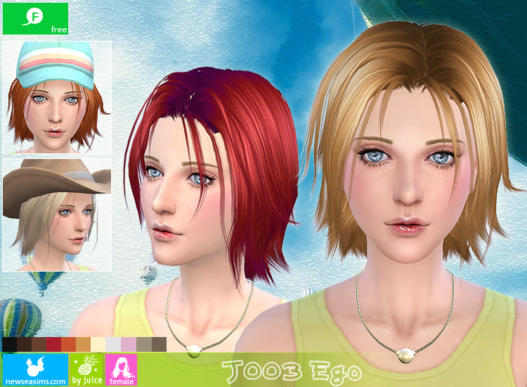 J003 Ego hair (Free) by Newsea