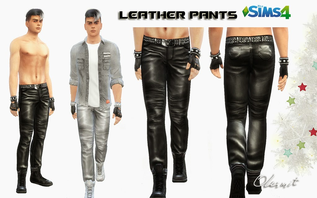 Leather pants by OleSims
