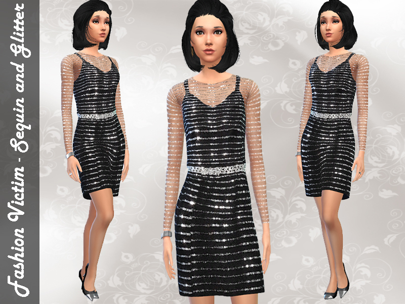 Sequined Cocktail Dress BY Fashion Victim