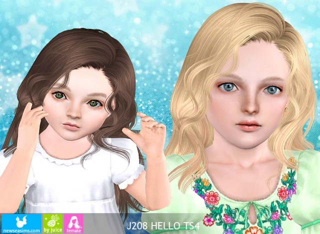 J208 Hello hairstyle by NewSea