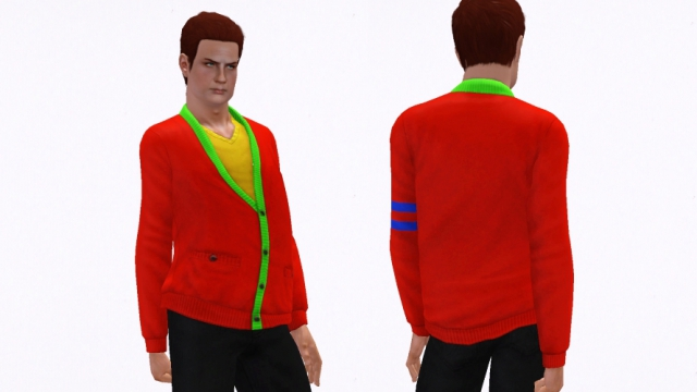 Clever Cardigan For EM by Sim mania
