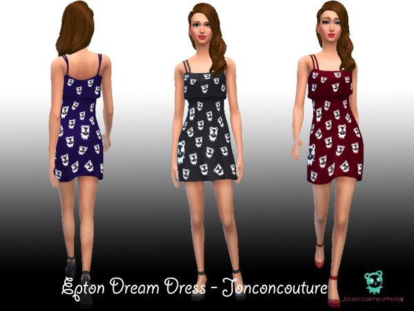 Epton Dream Dress - Jonconcouture by JonconCouture