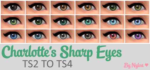 Charlotte's Sharp Eye Replacements by Nyloa