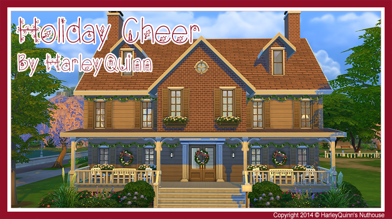 Holiday Cheer House by HarleyQuinn
