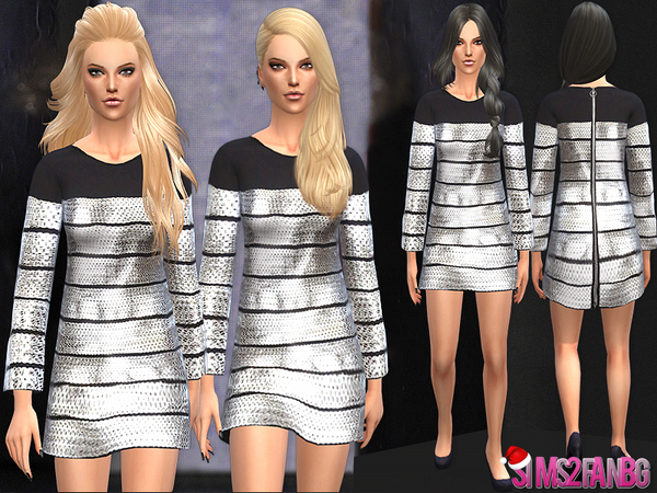 26 - Designer dress XMAS gift 1 by sims2fanbg