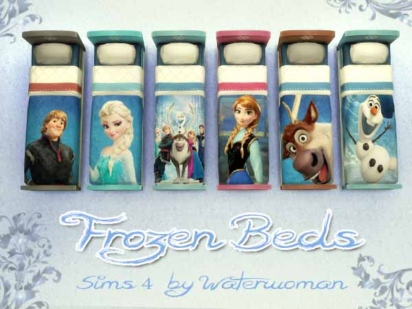 Frozen Kids Bed by Waterwoman