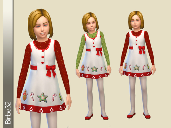 Christmas dress for kids by Birba32